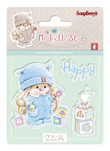 ScrapBerry`s - Clearstamp - My Little Star - Bunny Birthday - SCB4907042