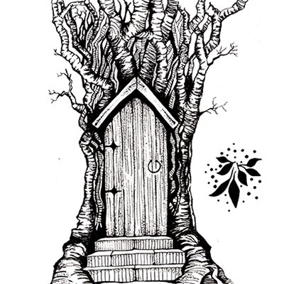 Lavinia Stamps - Clearstamp - Fairy Door Large - LAV0141