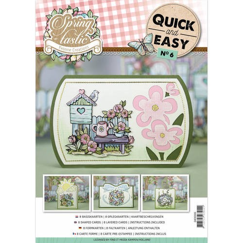 Card Deco - Quick and Easy 06 - Yvonne Creations - Spring-tastic