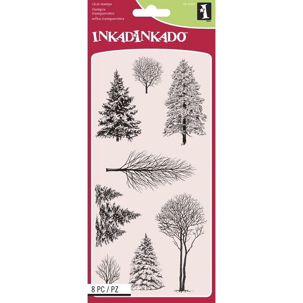 Inkadinkado - Clearstamp - Woodland Wonderland - 60-31297