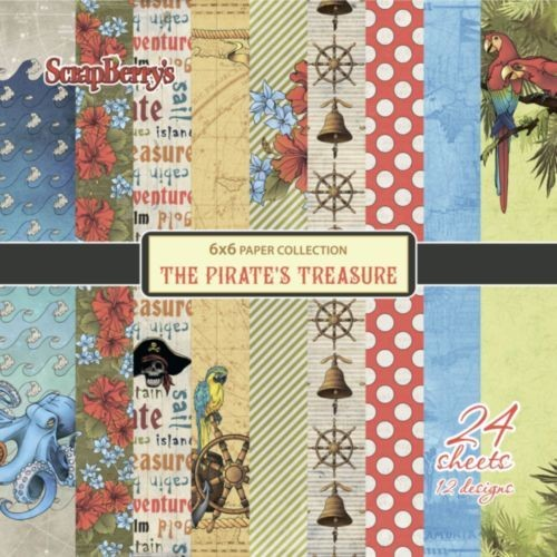 ScrapBerry`s - Paperpack - The Pirate`s Treaure - SCB220609209x