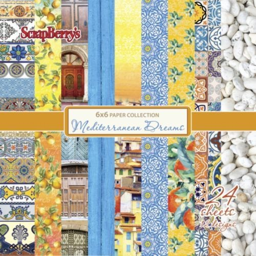 ScrapBerry`s - Paperpack - Mediterranean Dreams - SCB220609509x