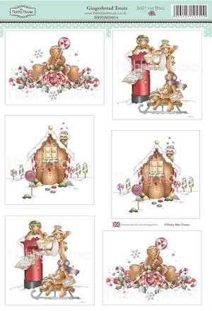 The Hobby House - Daisy Mae - (3D-)Stansvel A4 - Gingerbread Treats - HHDMD014