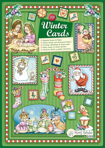 Marij Rahder - Boek - 3D Winter Cards