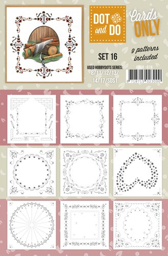 Card Deco - Oplegkaarten - Dot & Do - Cards Only - Set 16