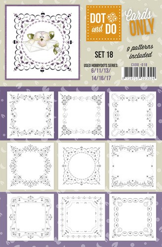 Card Deco - Oplegkaarten - Dot & Do - Cards Only - Set 18