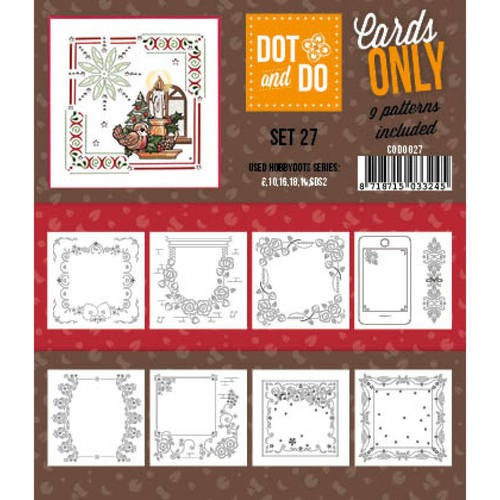 Card Deco - Oplegkaarten - Dot & Do - Cards Only - Set 27 - CODO027