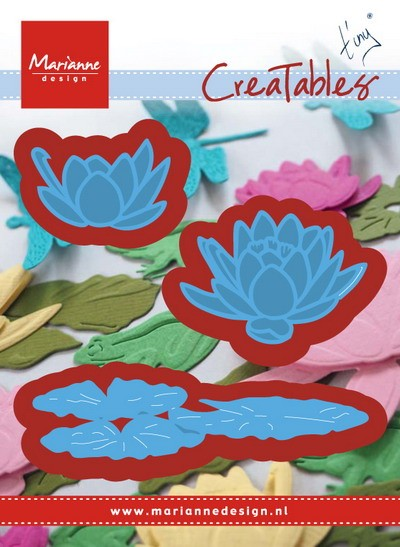 Marianne Design - Die - CreaTables - Tiny`s waterlily (Small) - LR0459