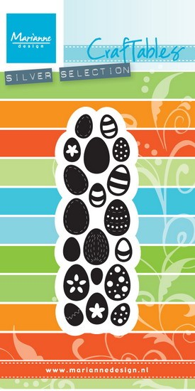Marianne Design - Die - Craftables - Eggs - CR1399