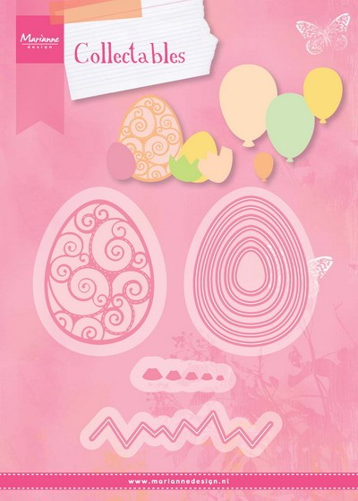 Marianne Design - Die - Collectables - Easter Eggs - COL1425