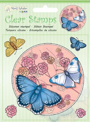 Marij Rahder - Clearstamp - Butterfly - 9.0033