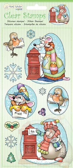 Marij Rahder - Clearstamp - Winter Animals - 9.0037
