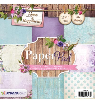 Studio Light - Paperpack - Nr. 39 - Home & Happiness - PPHH39