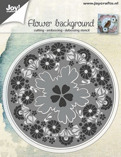 Joy! crafts - Die - Flowers Background