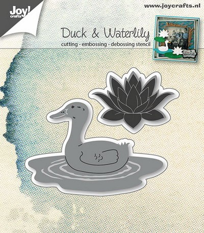Joy! crafts - Die - Duck & Waterlily