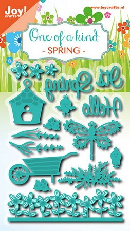 Joy! crafts - Noor! Design - Die - One of a kind - Spring