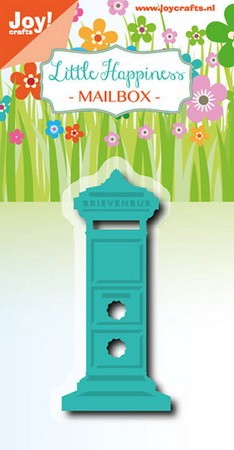 Joy! crafts - Noor! Design - Die - Little Happiness - Mailbox