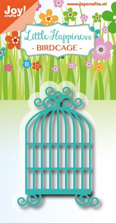 Joy! crafts - Noor! Design - Die - Little Happiness - Birdcage