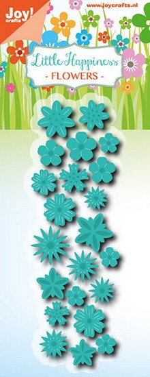Joy! crafts - Die - Cutting & Embossing - Litttle Happiness - Flowers - 6002/0774