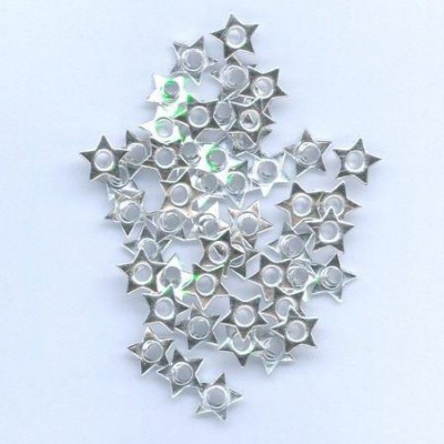 Hobby & Crafting Fun - Eyelets - Ster: Zilver - 12043-4322