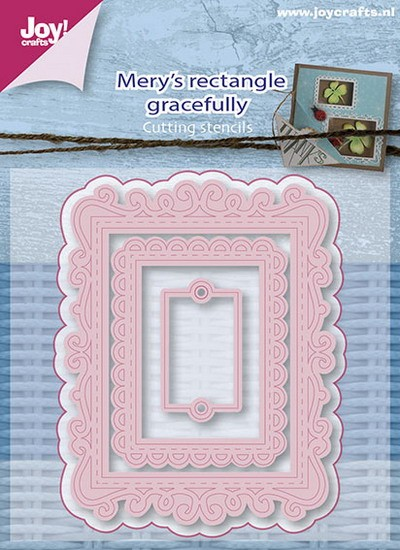 Joy! crafts - Die - Mery`s Rectangle Gracefully