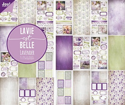 Joy! crafts - Noor! Design - Paperpack - Lavendel - 6011/0383