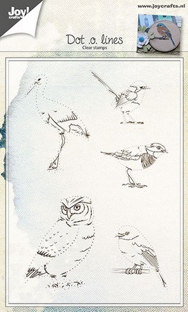 Joy! crafts - Clearstamp - Dot.o.lines - 6410/0431