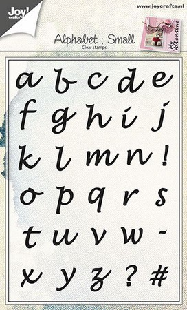 Joy! crafts - Clearstamp - Alphabet (small) - 6410/0438