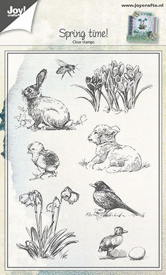 Joy! crafts - Clearstamp - Spring Time - 6410/0441