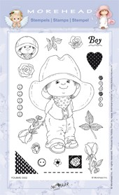 Morehead - Clearstamp - You & me - Boy - 0302
