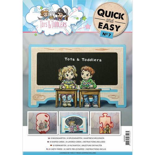 Card Deco - Quick and Easy 07 - Yvonne Creations - Tots and Toddlers - QAE10007