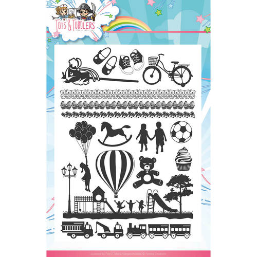 Yvonne Creations - Clearstamp - Tots and Toddlers - YCCS10030