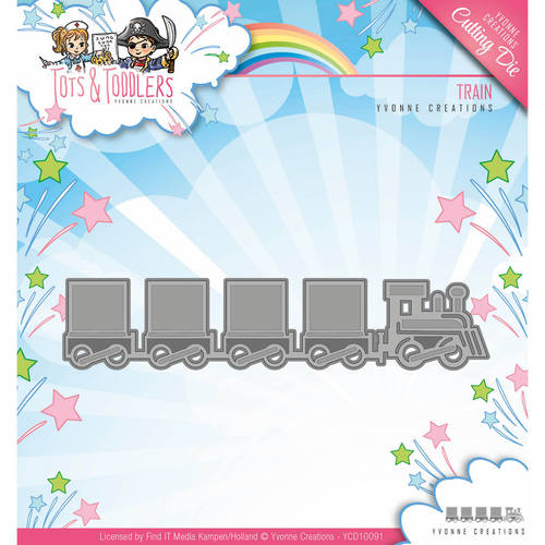 Yvonne Creations - Die - Tots and Toddlers - Train