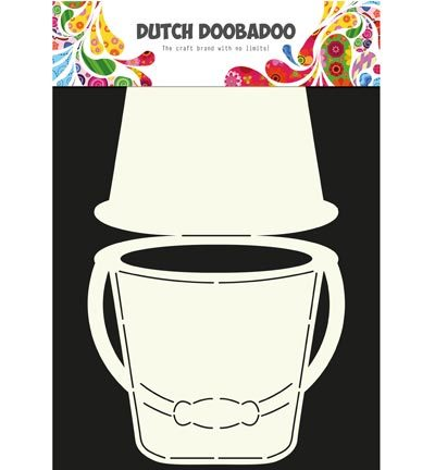 Dutch Doobadoo - Card Art - Bucket - 470.713.606