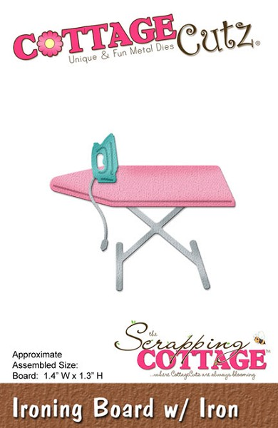 Cottage Cutz - Die - Ironing Board with Iron
