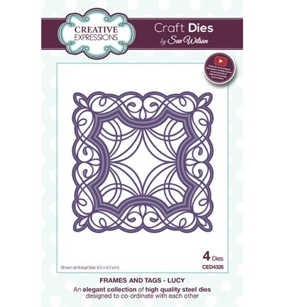 Creative Expressions - Die - The Frames & Tags Collection - Lucy