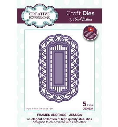 Creative Expressions - Die - The Frames & Tags Collection - Jessica - CED4325