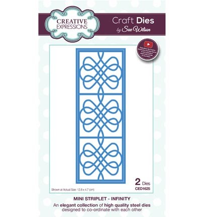Creative Expressions - Die - The Striplet Collection - Infinity - CED1625