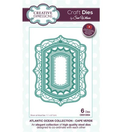 Creative Expressions - Die - The Atlantic Ocean Collection - Cape Verde - CED13004