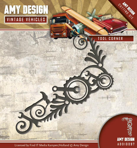 Amy Design - Die - Vintage Vehicles - Tool Corner - ADD10097