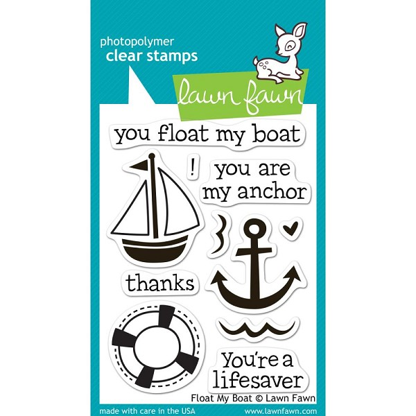 Lawn Fawn - Clearstamps - Float My Boat - LF654