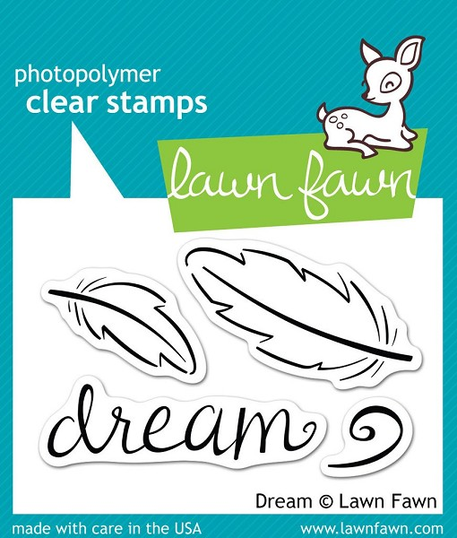 Lawn Fawn - Clearstamps - Dream - LF0656