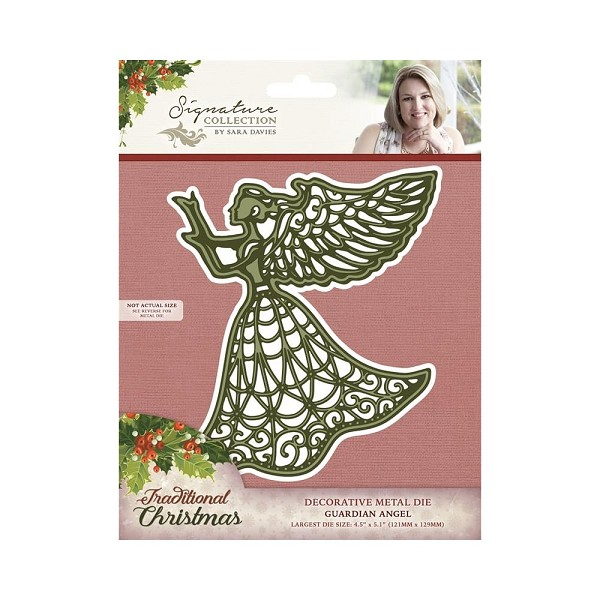Crafter`s Companion - Sara Davies - Die - Traditional Christmas - Guardian Angel