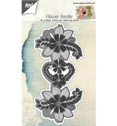 Joy! crafts - Die - Flower border - 6002/0691