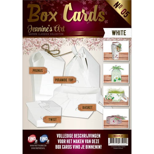 Card Deco - Box Cards 5: Wit - BXCS005-01