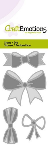 CraftEmotions - Die - Bows - 115633/0185