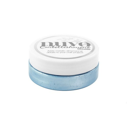 Nuvo - Embellishment mousse: Cornflower blue - 806N