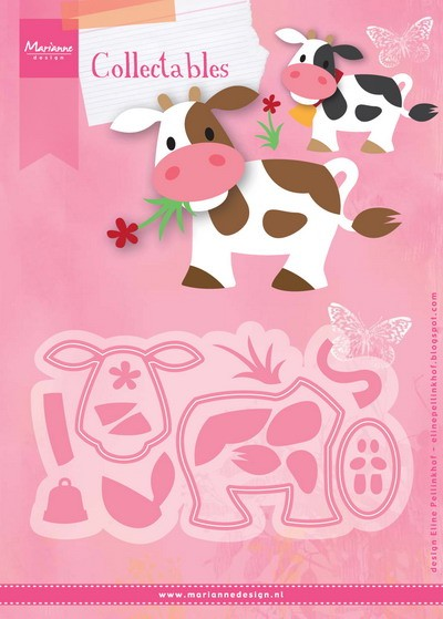 Marianne Design - Die - Collectables - Eline`s cow - COL1426