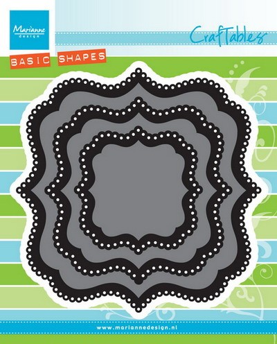 Marianne Design - Die - Craftables - Basic Die - Classic Square - CR1404