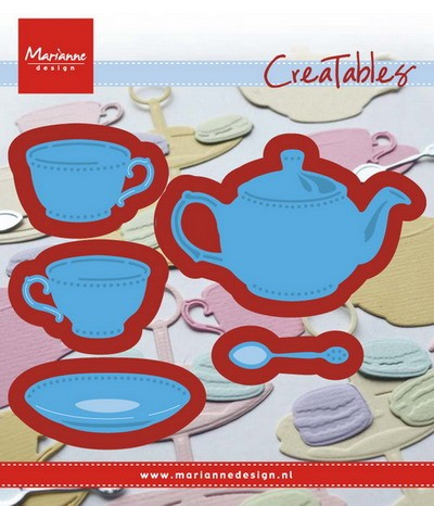 Marianne Design - Die - CreaTables - Tea for you - LR0462